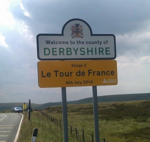 Le Toue de France, meet Derbyshire.